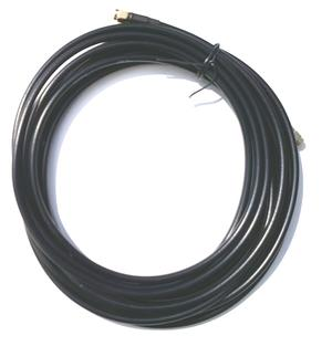 Antenna Cable 2 meter 6mm - SMA-male - SMA-male